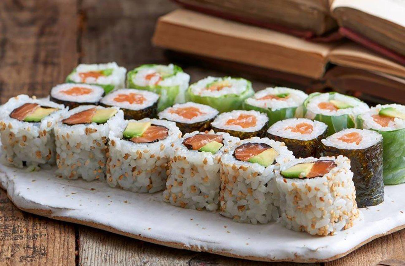 Sushi norsk fisk